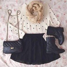 Outfit comodo, perfecto para salir con amigas ^^