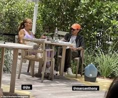 Jennifer Lopez spotted out with her OTHER ex Marc Anthony after 'romantic' holiday with Ben Affleck | Daily Mail Online