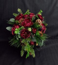 Green And Burgundy Wedding, Green Spring Wedding, Emerald Green Weddings, Burgundy Color, Succulent Boutonniere, Corsage And Boutonniere, Boutonnieres, Ranunculus Wedding Bouquet, Wedding Bouquets