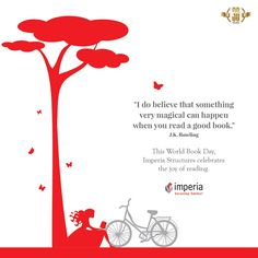 This #WorldBookDay, Imperia Structures celebrates the joy of reading. #Imperiastructures