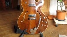 Hopf Allround BJ 1965 Elektrik-Jazz-Rockgitarre mit Tremolo in Baden-Württemberg - Balingen | Musikinstrumente und Zubehör gebraucht kaufen | eBay Kleinanzeigen