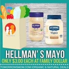 DG  shoppers check out this deal ONLY $3.00 with insert coupon. . . If you click on the link in my bio @tomorrowsmom you will find the fast  links to coupons  . . . Visit My Blog: TomorrowsMom.com |Organic & Natural Deals|Family Savings Deals| . TAG OR DM THIS DEAL 2 A FRIEND . . #frugal #savings #deals #cosmicmothers  #organic #fitmom #health101 #change #nongmo #organiclife #crunchymama #organicmom #gmofree #organiclifestyle #familysavings  #healthyhabits #lifechanging #fitpeople…