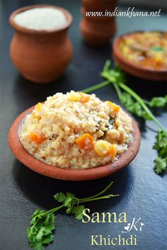 Samvat Chawal Khichdi or Barnyard Millet Khichdi is flavorful khichid for #fasting with simple ingredients.