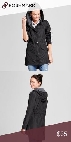 2ff0ce16439 ... Knobeloch. ❤ TARGET NEW DAY BLACK ANORAK JACKET ❤ 🍀 New without tags