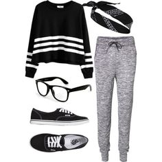 Sans titre #128 by merve67 on Polyvore featuring Vero Moda, Vans and River Island Comfy Pants, Crop Top Outfits, Gym Style, River Island, Lazy, Crop Tops, Polyvore, Stuff To Buy, Shopping