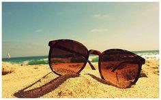 sunny picture of sunglasses #sunglasses #style #fashion