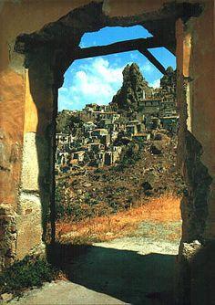 Calabria, Italy: Pentedattilo, province of Reggio , Calabria region Italy
