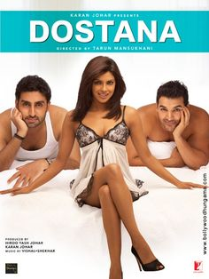 Dostana (Abhishek Bachchan, John Abraham, Priyanka Chopra) currently-popular-on-mela