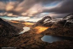 Tryfan from Y Garn by Alessio Andreani on 500px