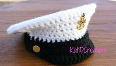 Crochet Military Inspired Hat - FREE Pattern!!