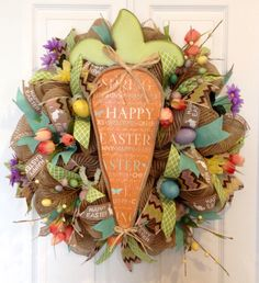 Easter wreath for sale! $61.00