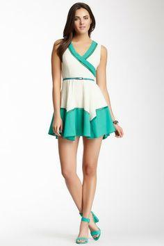 Colorblock Dress by Double Zero on @HauteLook