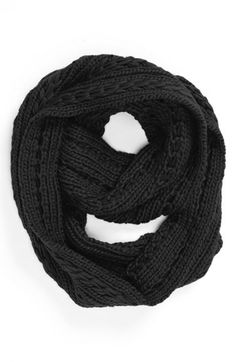 cable knit infinity scarf / nordstrom