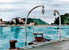 Los pescantes - Gonzalo Obes