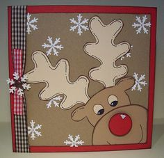 Reindeer Card by Robson Clan Northampton, via Flickr
