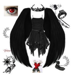 """""""Jack's outfit"""" by mayfox14 on Polyvore featuring WithChic, Melissa and Fantasia"""