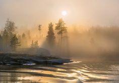 Туманные фотографии республики Карелии