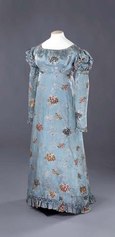 Dress, early 1820s