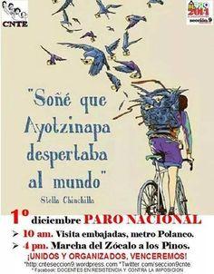 CNTE sección IX se mueve por #Ayotzinapa #1Dmx2014- http://www.pixable.com/share/5Zgot/?tracksrc=SHPNAND2&utm_medium=viral&utm_source=pinterest