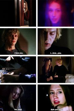 Parallels <3 Kyle and Zoe / Tate and Violet <3