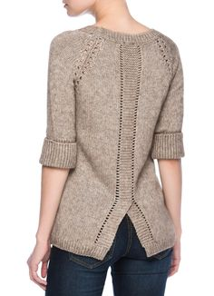 Купить Джемпер со структурной вязкой (LK1N76) в интернет-магазине одежды O'STIN
