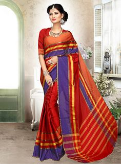 Elegantly charming and fashionable, this saree from the collection, is the perfect pick when you are attending a friend?s wedding or a festive occasion. With it's beautiful ethnic work & fabric, this saree will fetch you oodles of compliments & praising.
