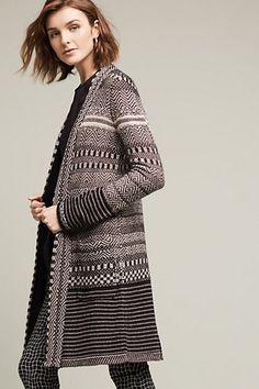 Katy Sweater Coat #anthropologie