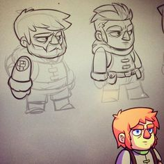 Working on Bullet Age NPCs. #gamedev #indiedev #BulletAge #mangastudio