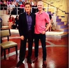 What an incredible week it's in been so far with the release of  The All Day Energy Diet. --->      http://momoutlastkids1-16energyday.info/  today I'll be appearing on Dr. Oz (check your local  listings for show times). 9/25/2014 I believe my segment is at the beginning of the show...  I hope you get a chance to watch it - it's really good!  Your friend and coach,  Yuri and Henry http://momoutlastkids1-16energyday.info/