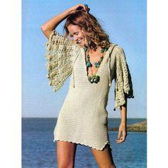 Crochet+hoodie+beach+crochet+tunic+pattern+by+FavoritePATTERNs,+$7.75