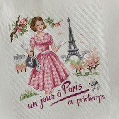 Un jour a Paris au printemps