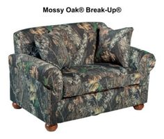 Every house needs a camo couch!