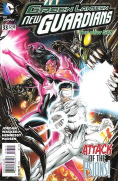 Green Lantern: New Guardians # 33 DC Comics The New 52!