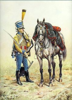 French 9th Hussars 1813