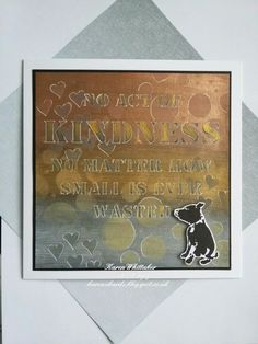Inspired by Banksy stamps from Bee Crafty  #beecraftystamps #dtsample #inspiredbybanksy #dog #inkables #stencil #micapowders #stamps #stamping #card #creative #craft #ilovetocraft