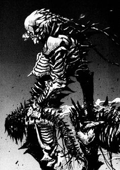 """""""/a/ - Anime & Manga"""" is imageboard dedicated to the discussion of Japanese animation and manga. Art And Illustration, Comic Kunst, Comic Art, Comic Book, Der Steppenwolf, Manga Art, Anime Art, Knights Of Sidonia, Character Art"""