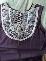 croche de grampo c tecido blusa crochet grampo blusa croche de grampo ...
