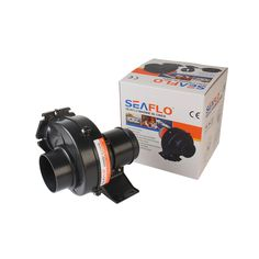 SEAFLO 24V DC Marine Bilge Blower Fan 130CFM Silent Electric Air Blowers Vents Centrifugal Fan Quiet Black #Affiliate