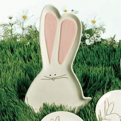 Bunny Serving Platter at Wrapables ~ Serving Platters & Trays