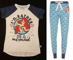 Primark Ladies Ariel The Little Mermaid Pyjama Separates Or Set T Pyjamas from $20.88