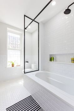 A Park Slope Couple Rewrites an Uber Chic Bathroom