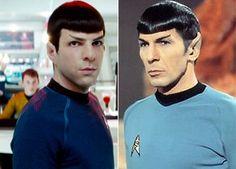 Zachary Quinto vs. Leonard Nimoy as Spock...Beautifuuul