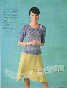 Lilac coat hook - ellem6 - and knitting tirelessly