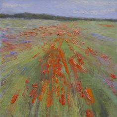 ivan skorobogatov Field with poppies oil on canvas