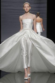 Bridal Style: Bridal Jumpsuits And Statement-Making Separates   The Bridal Circle - #WeddingDresses #bride #weddingdress