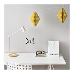 UDDIG Decoraţiune suspendată IKEA O decoraţiune de efect, care iese imediat în evidenţă. Potrivite pentru agățat la ocazii festive.