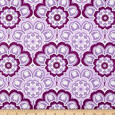 Lavender Blossoming From Michael Miller's Birds by StitchStashDiva