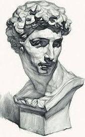 Academic Drawing, Academic Art, Pencil Art Drawings, Art Drawings Sketches, Portrait Sketches, Realistic Drawings, Volume Art, Arte Sketchbook, Anatomy Drawing