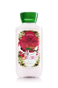 Red Velvet Cheer Body Lotion - Signature Collection - Bath & Body Works
