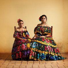Indígenas mejicanos Zapotec.